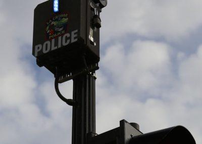 Safe-Cam on stoplight post